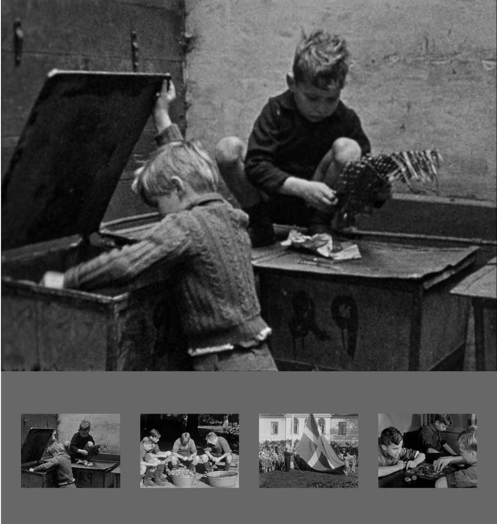 A documentary from 1939 that shows the everyday life of children in the city.